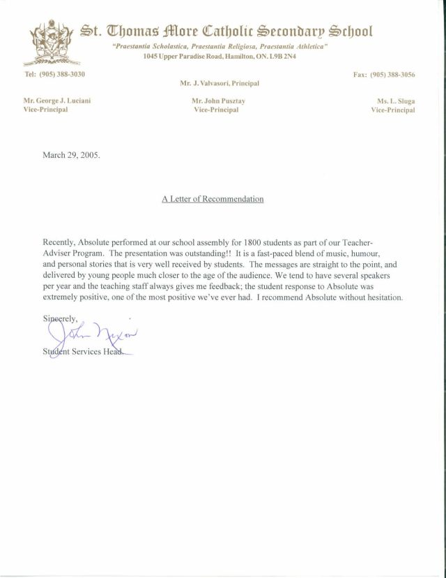 Reference Letter For Students From Teacher Cover Letter Examples – Letter of Recommendation for a Student
